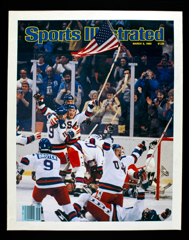 Poster showing cover of Sport Illustrated