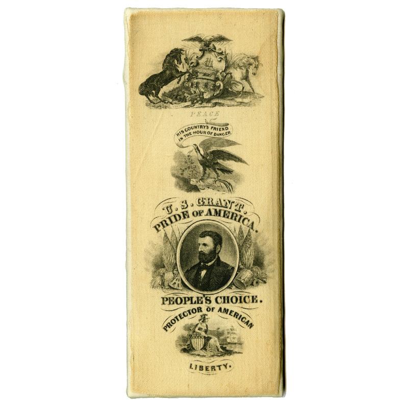 Grant campaign ribbon, 1868