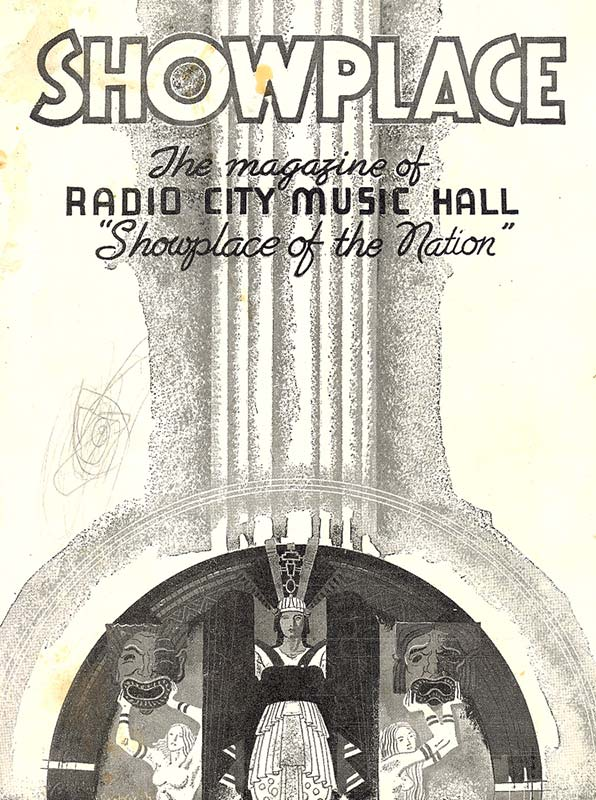 Radio City program cover