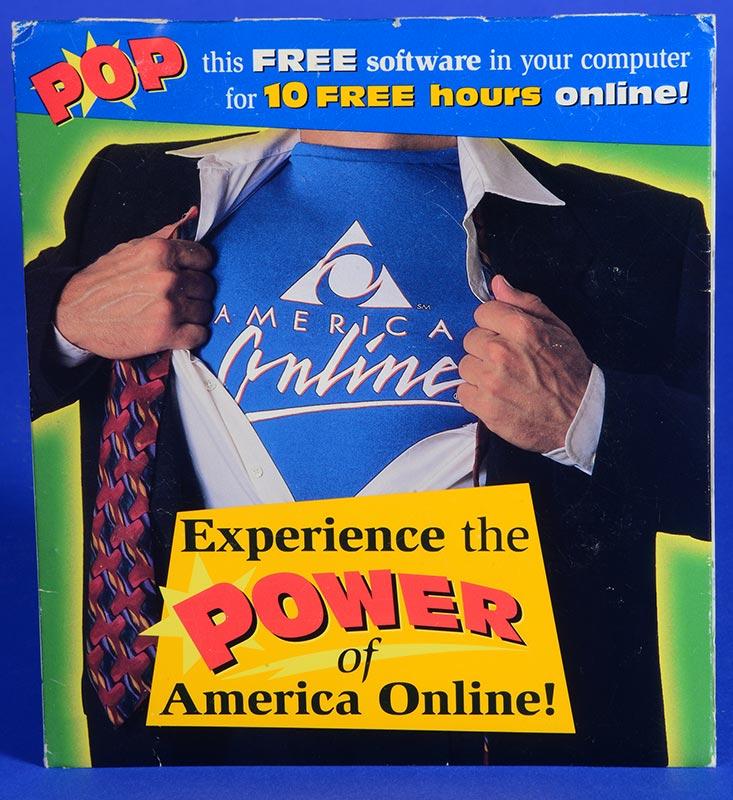 America Online advertisement