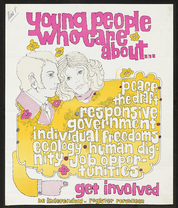 Poster, Young people who care get involved