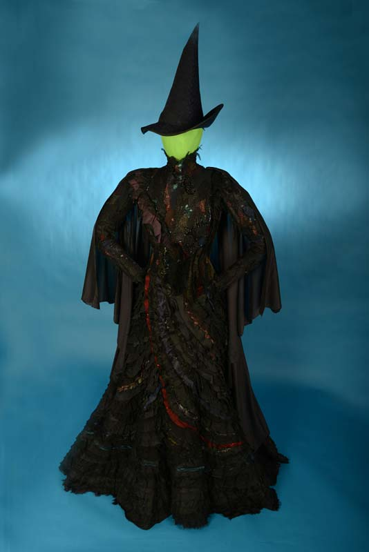 Witch theater costume