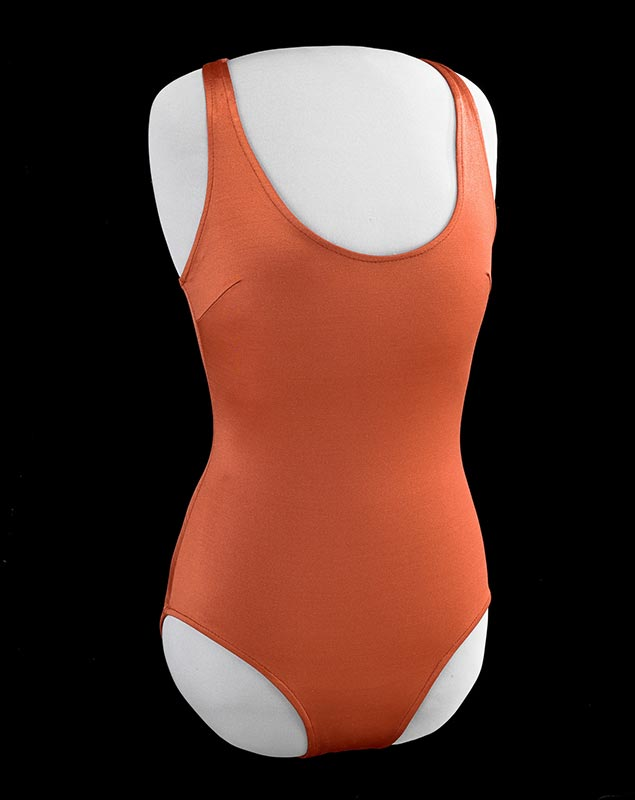 Red women's swimsuit