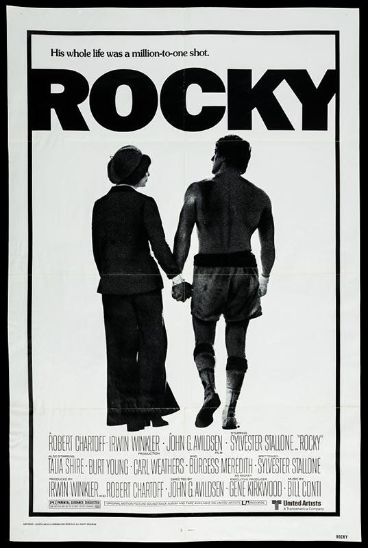 Movie poster, Rocky