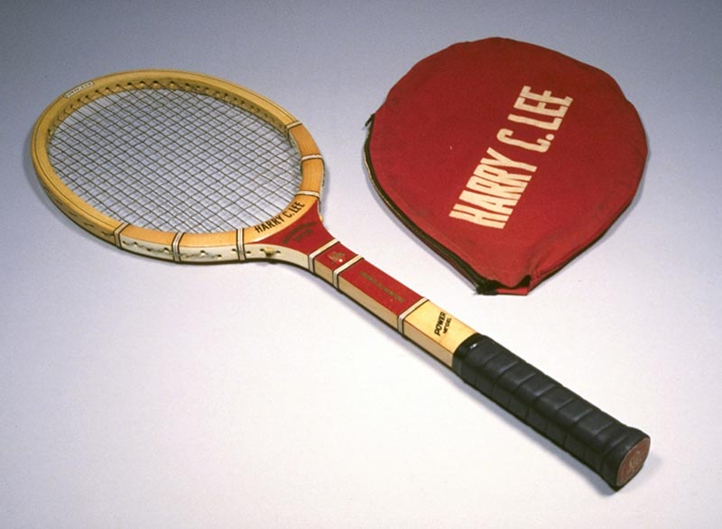 Tennis racquet and cover