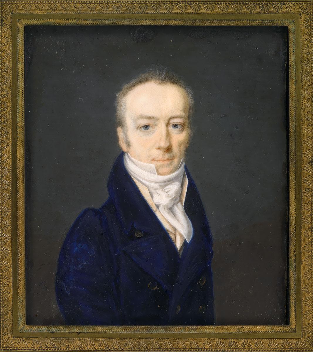 James Smithson, by Henri-Joseph Johns, 1816.