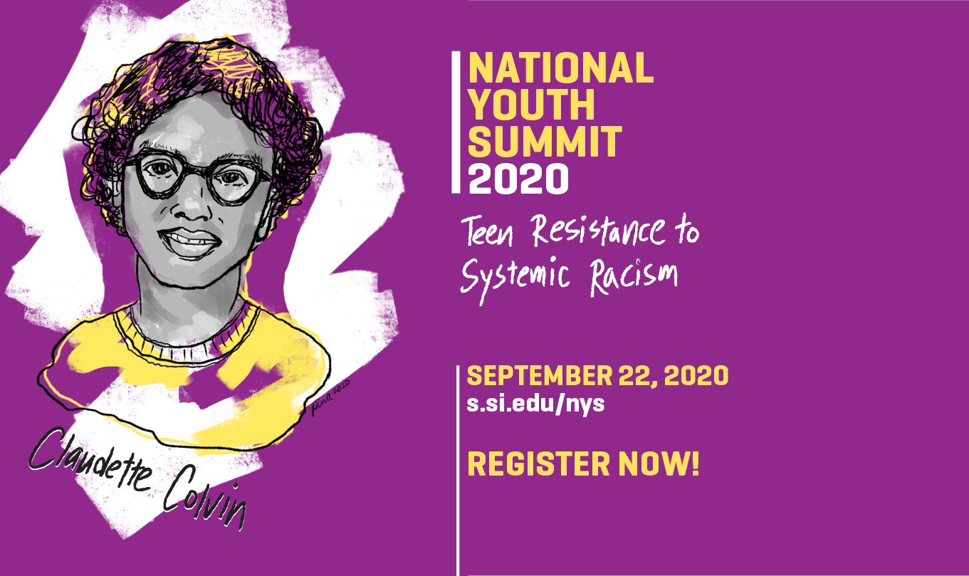 National Youth Summit header with event information
