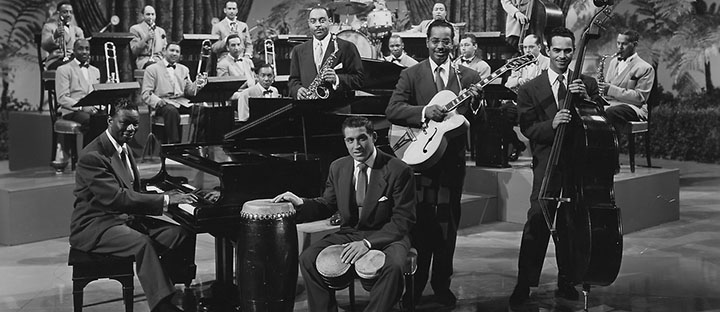 Nat King Cole with band