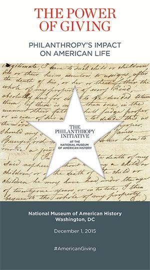 Philanthropy Initiative Program 2015