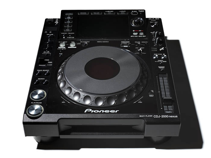 Black DJ equipment