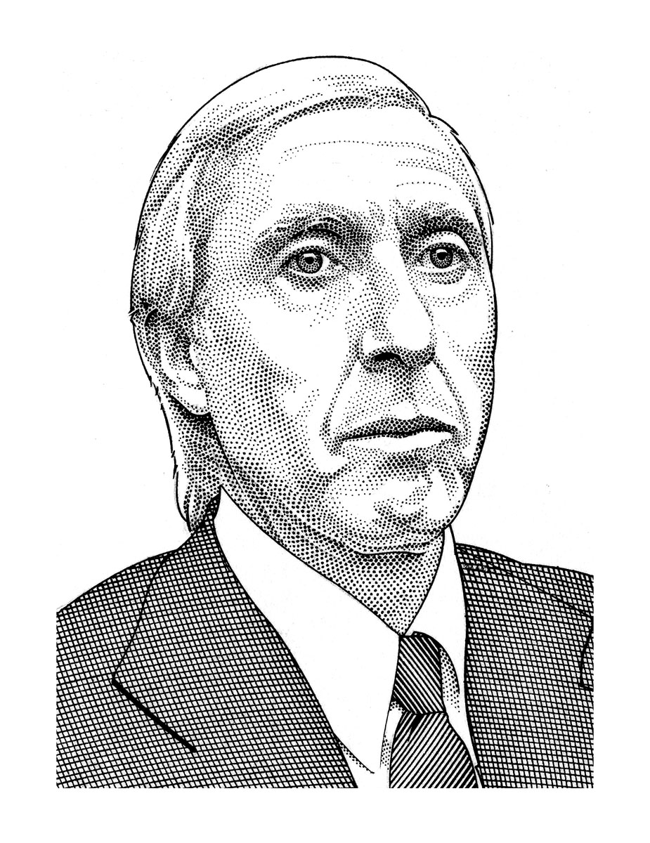 Sketch of Ivan Boesky