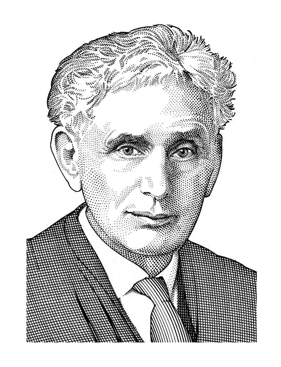 Sketch of Louis Brandeis
