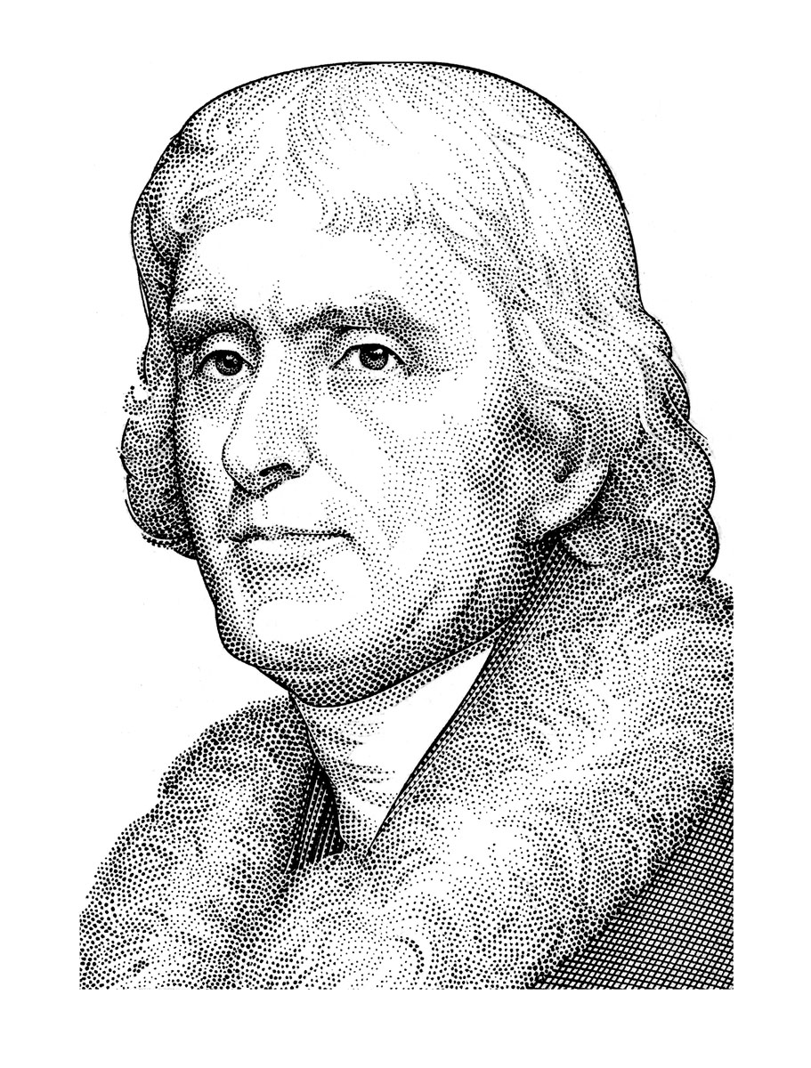 Sketch of Thomas Jefferson