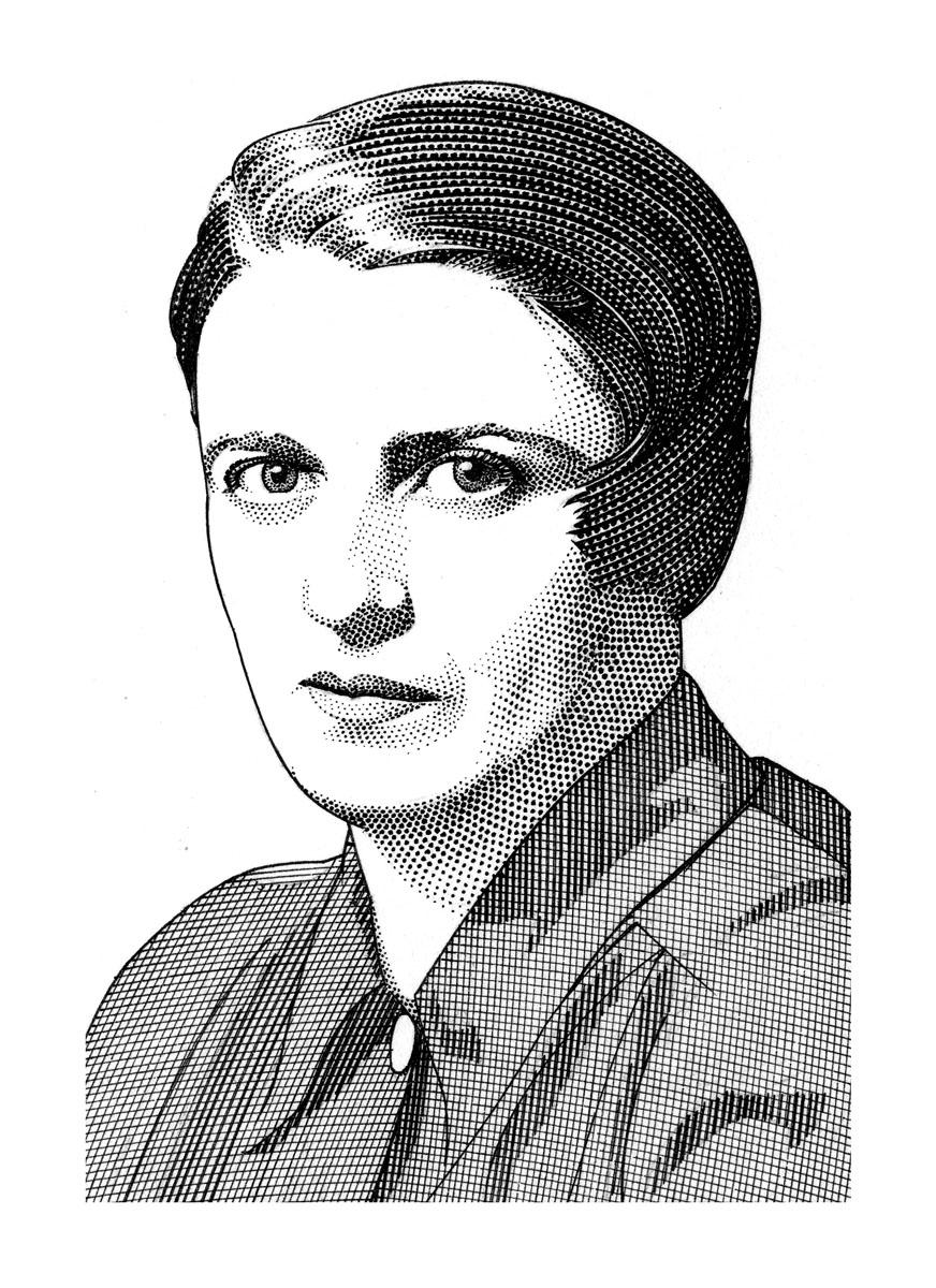 Sketch of Ayn Rand