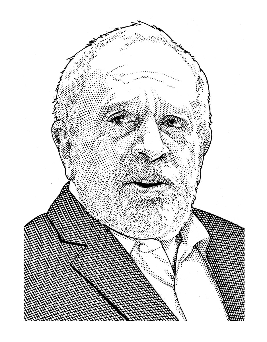 Sketch of Robert Reich