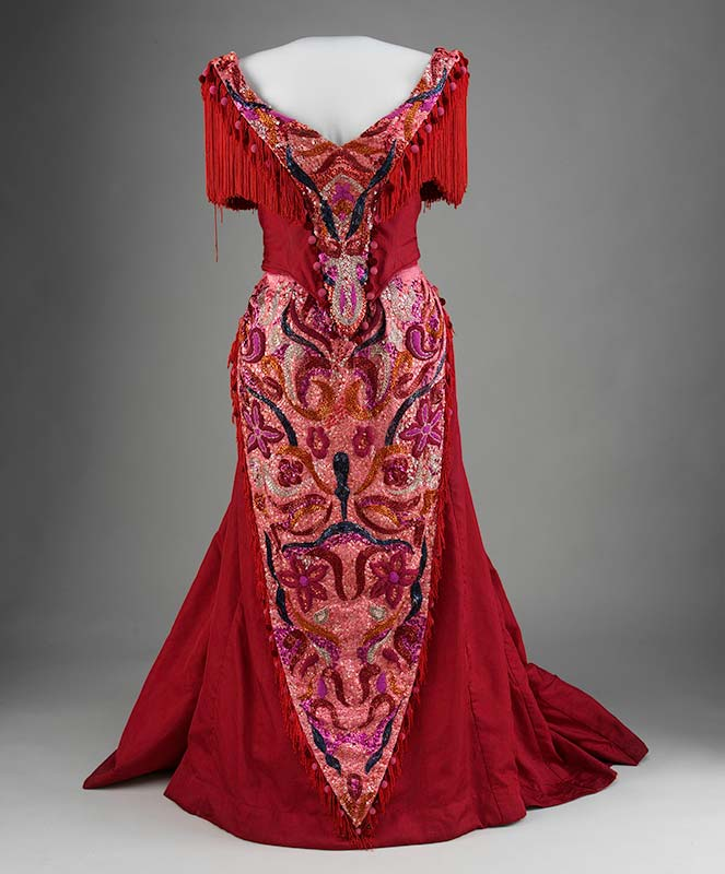 Ornate costume dress from 'Hello Dolly'