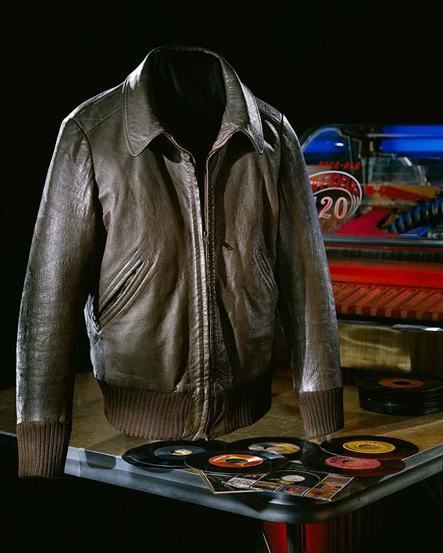 Costume leather jacket