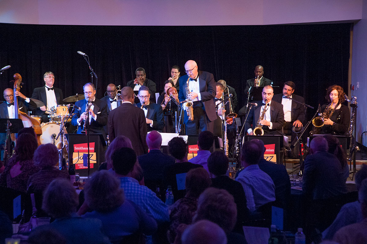 Smithsonian Jazz Masterworks Orchestra in concert at the National Museum of American History. Photo by Jacyln Nash