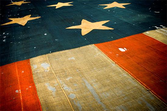 star-spangled banner detail