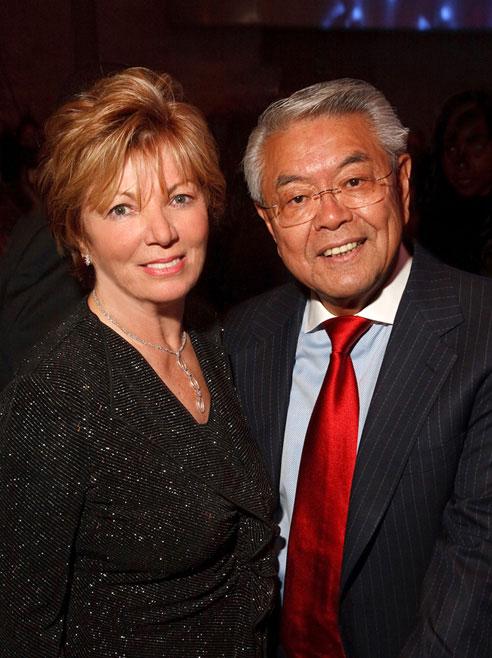 John Sie and wife Anna