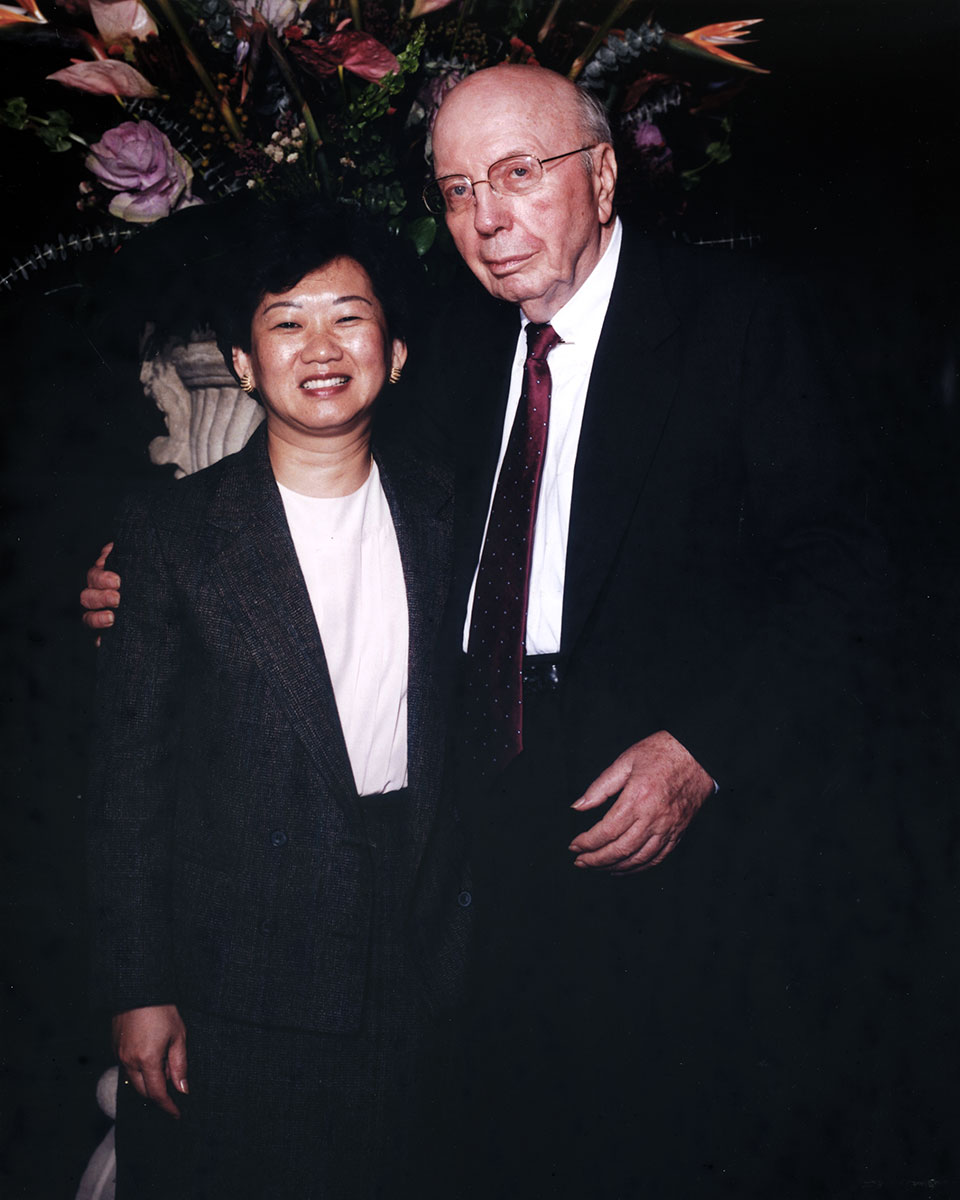 Sue Van and Wallace E. Coulter