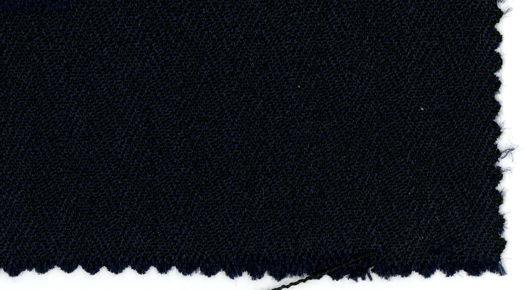 Photo of fabric. Dark blue and dark black.