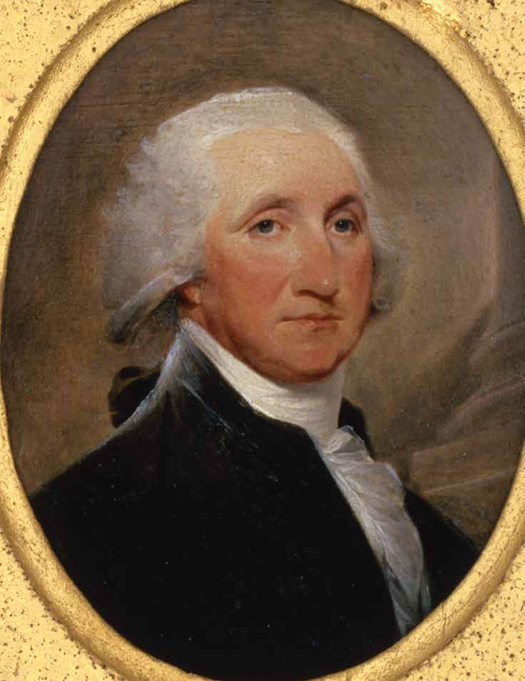 George Washington, painting by John Trumbull, 1793