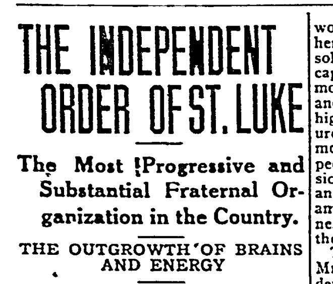 A newspaper article headline.