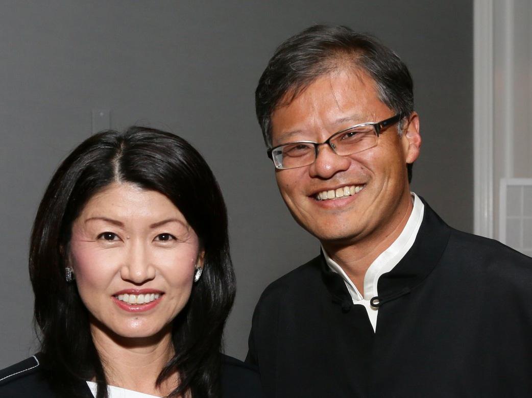 Jerry Yang and Akiko Yamazaki