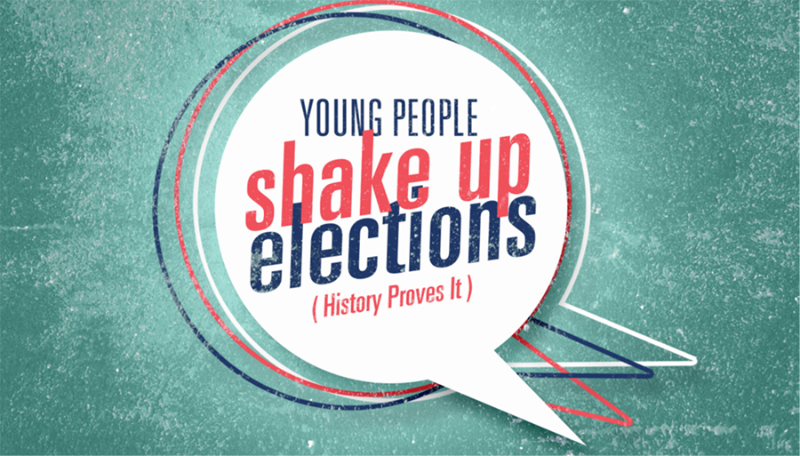 Young People Shake Up Elections graphic