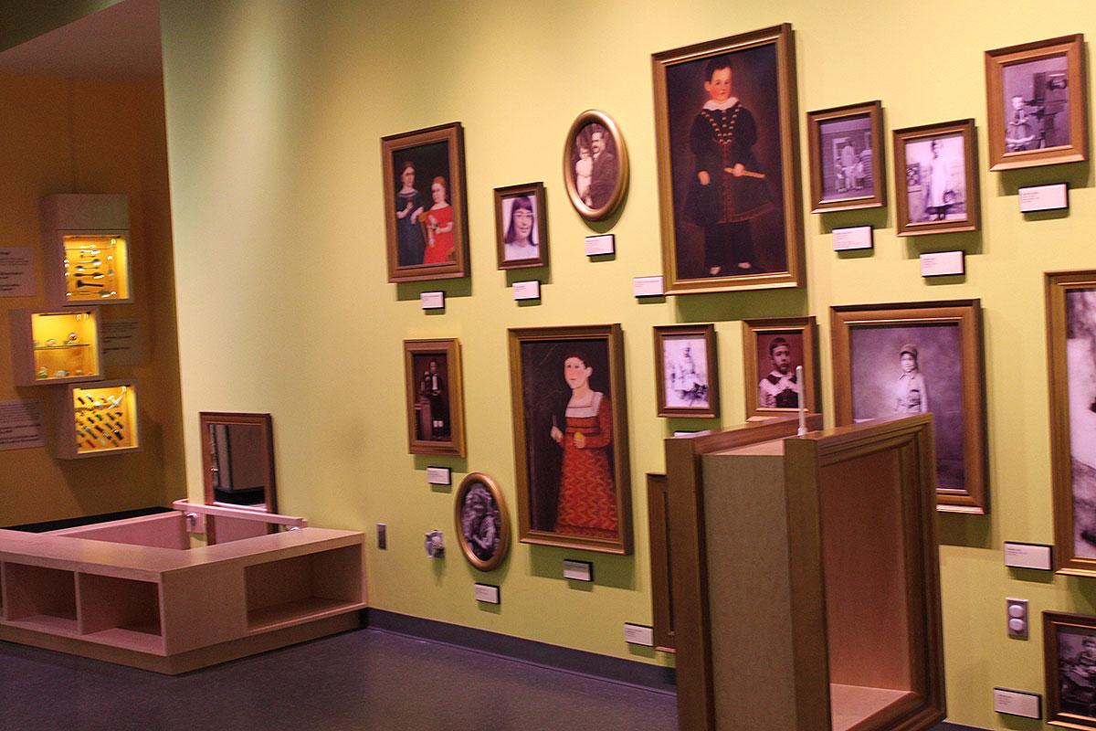 Wegmans Wonderplace portrait gallery