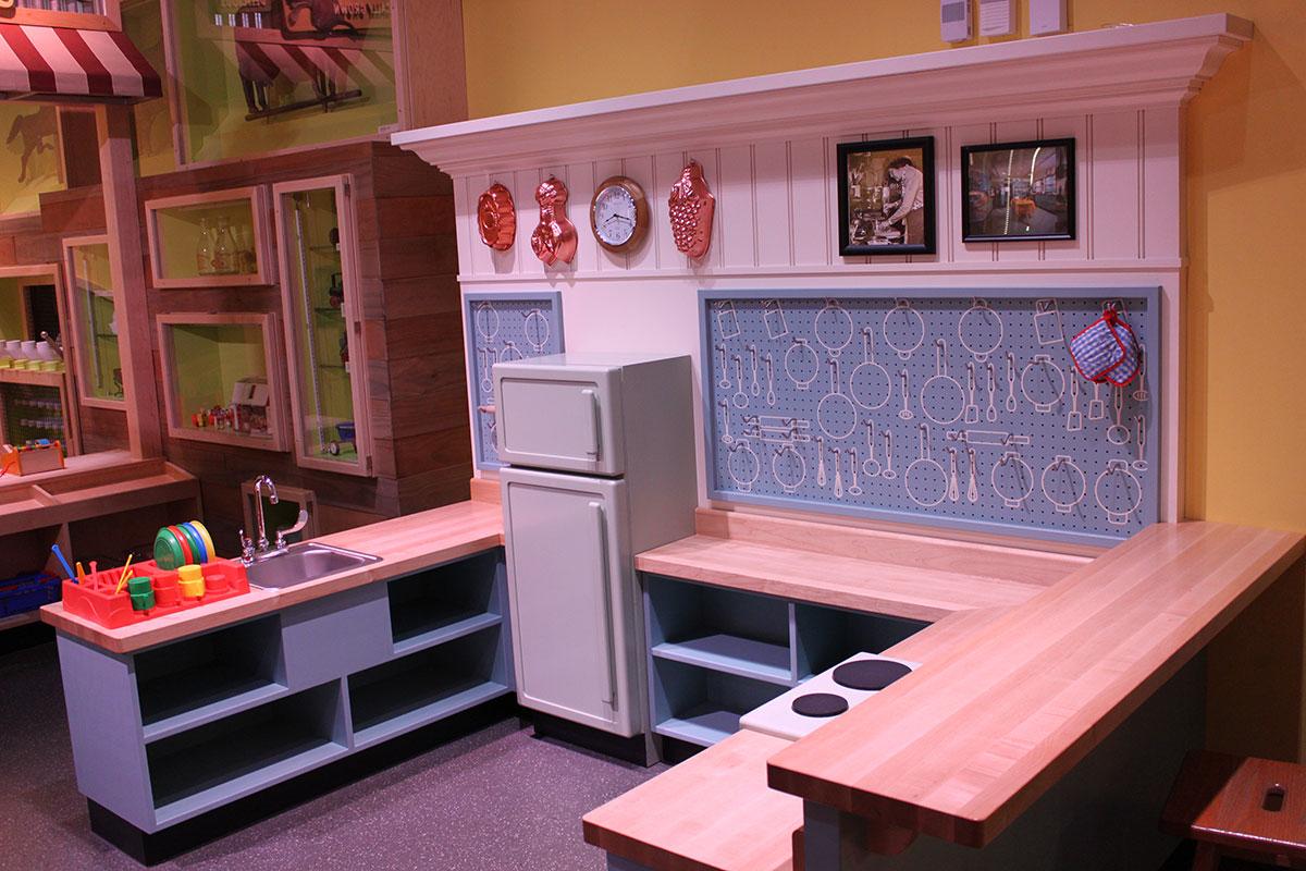Wegmans Wonderplace kitchen