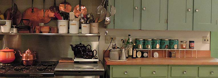 Detail of Julia's Kitchen