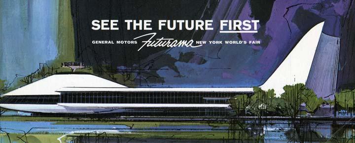 Brochure, General Motors Futurama, New York World's Fair, See the Future First, 1964