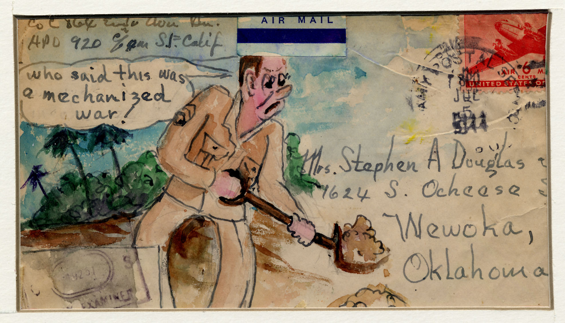 World War Two Envelope