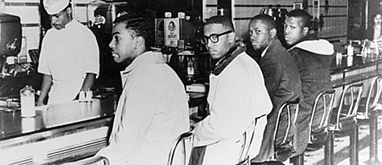 Greensboro lunch counter sit-in