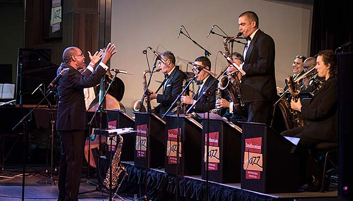 Smithsonian Jazz Masterworks Orchestra in performance