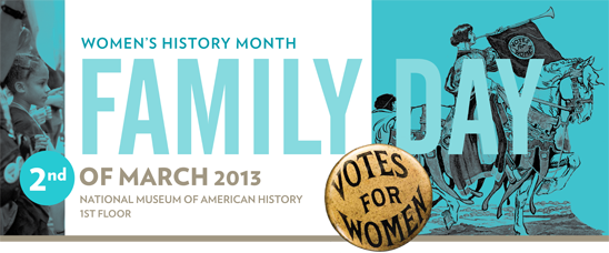 Women's History Month Family Day, March 2