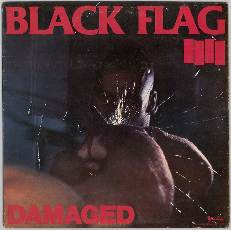 Album cover, Black Flag's 'Damaged'