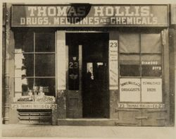 Photo Hollis Store ca 1923