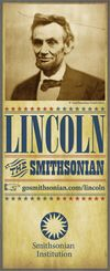 Graphic Identity for Lincoln at the Smithsonian
