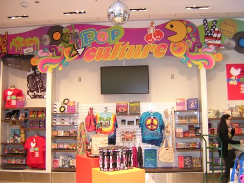 Pop culture store at the National Museum of American History