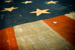 Star-Spangled Banner (detail)