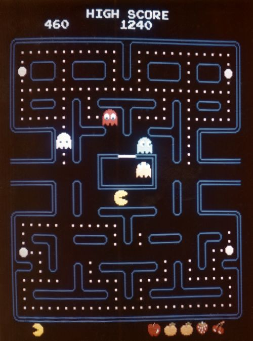 Playing PacMan