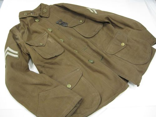 Boy Scout tunic worn by David Loewenwarter between 1911 and 1914