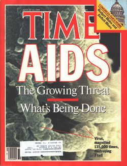 Time Magazine--AIDS