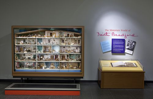 Dolls' exhibit