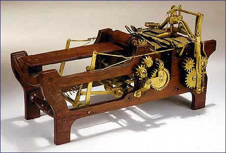 1879 Patent Model for Margaret Knight's Paper Bag Machine.