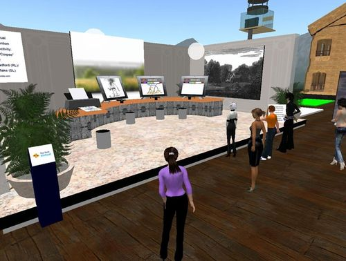 Screenshot from June 10 design review meet-up in The Tech Virtual prototyping space in Second Life_2