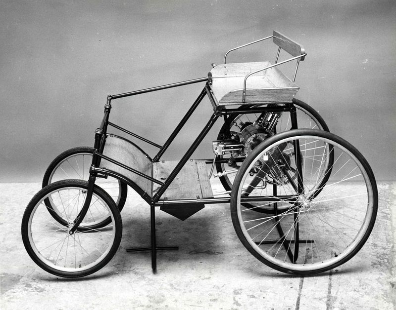 Race to the Museum: Balzer automobile, 1894 | National Museum of ...